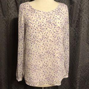 Lauren Conrad long sleeve top